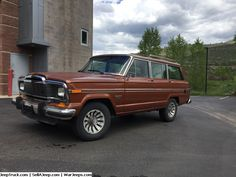 Jeep Trucks For Sale and Jeep Truck Parts - 1982 Jeep Wagoneer Brougham Edition