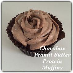 Mama Mummy Mum: Chocolate and Peanut Butter Protein Muffins