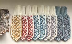 Double Knitting, Free Knitting, Knitting Socks, Baby Knitting, Knitting Patterns, Crochet Mittens, Mittens Pattern, Knitted Gloves, Knit Crochet