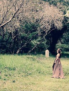 Cemetery shoot.  oooo....