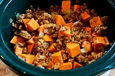 ... Sweet and Spicy Ground Turkey and Sweet Potato Stew with Coconut Milk