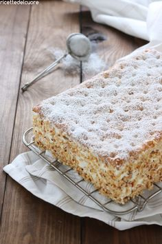 Italian Desserts, Italian Recipes, Burritos, Best Banana Bread, Pastry Shop, Vanilla Cake, Nutella, Cake Recipes, Food And Drink