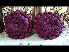 लड्डू कुशन कैसे बनाएं // How to make Cushion in hindi Smocking Tutorial, Smocking Patterns, Diy Crafts Hacks, Diy Craft Projects, Craft From Waste Material, Fabric Manipulation Techniques, Diy Makeup Remover, Hand Embroidery Videos, Sewing Pillows