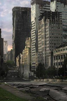 Create an Apocalyptic City Street in Photoshop - Envato Tuts+ Design & Illustration Tutorial