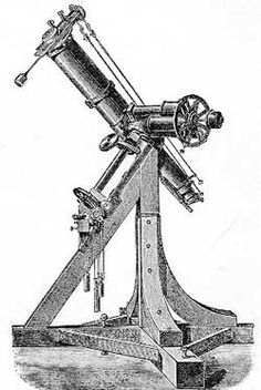 Fraunhoffer Heliometer Drawing
