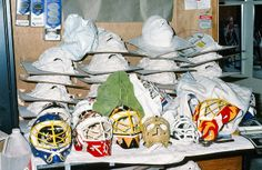 Greg Harrison's pile work. Don't forget, he's the man who invented the Hybrid mask. Poor guy didn't even patent the design. Nonetheless, he's a legend.