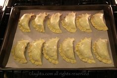 Bake the empanadas at 375F to 400F for about 18-25 minutes Empanadas Recipe Dough, Empanada Dough, Easy Baking Recipes, Cooking Recipes, Beet And Goat Cheese, Chilean Recipes, Asparagus Recipe, Easy Cooking, Mexican Food Recipes