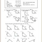 Printables Special Right Triangles 45 45 90 Worksheet pinterest the worlds catalog of ideas these notes are for 45 90 special right triangles i give a