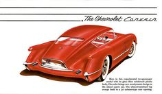 1954 Chevrolet Corvair concept