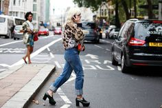 London fashion week. Francesca Burns, Vogue U.K.