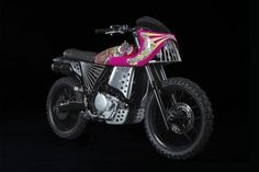 Honda NX650 by Keiichi Tanaami and Basic Garage Italy 4