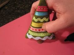 Meet and Make: A Sewn Ornament from Cathie Filian + 18 Days 'til Christmas Giveaway