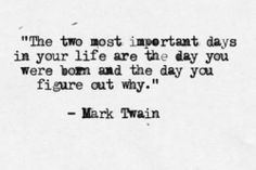 words wednesdays // mark twain