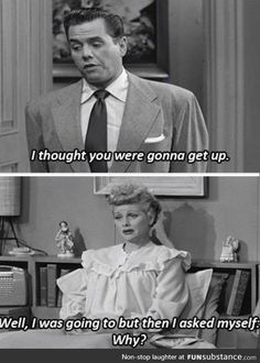 Lucy really understands me