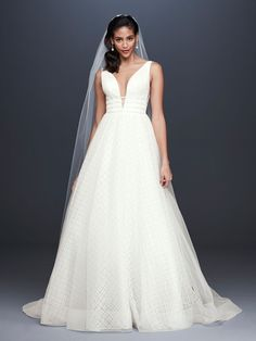 Searching for the latest wedding gowns & newest wedding dress designs? David's Bridal offers an extensive 2020 new wedding dresses collection. Wedding Dress Trends, Long Wedding Dresses, Designer Wedding Dresses, Bridal Dresses, Wedding Gowns, Wedding Ideas, Tulle Wedding, Wedding Bells, Garden Wedding