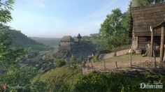 kingdom come deliverance backround: Full HD Pictures by Jazlyn Waite Medieval World, Medieval Fantasy, Kingdom Come Deliverance, Full Hd Pictures, Heart Of Europe, Across The Border, Fantasy Places, Fantasy Landscape, The Real World