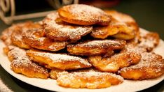 Apple Pancakes - Racuchy z Jablkami my drandma used to make those Yummy Polish Recipes, New Recipes, Cake Recipes, Cooking Recipes, Favorite Recipes, Polish Food, Hungarian Recipes, International Recipes, No Bake Cake