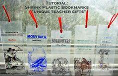 Sew Glamorous: Tutorial: Shrink Plastic Bookmarks