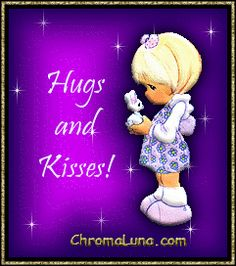 Cute Hugs and Kisses Graphics | Another kisses image: (hugs_and_kisses_bunny) for MySpace from ...