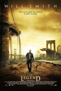 I Am Legend (2007) Will Smith played the role of Robert Neville.