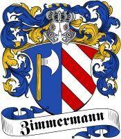 Zimmermann Coat of Arms www.4crests.com #coatofarms #familycrest #familycrests…