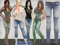 Bereth's Jeans with Design