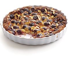 cherry-almond clafoutis...this was an absolute winner...my youngest son THANKED me for making it...
