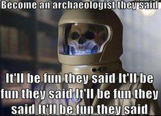 Archaeology according to the Vashta Nerada