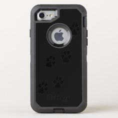 Shop Paw prints of a dog OtterBox iPhone case created by GreenOptix. Dog Lover Gifts, Dog Lovers, Dog Poster, Iphone Se, Protective Cases, Paw Prints, Dogs, Products, Doggies