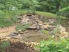 Garden Pond and Waterfall : Archive : Home & Garden Television