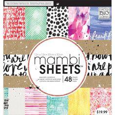 "MAMBI Paper Pad 12""x12"" - Paint Palette"
