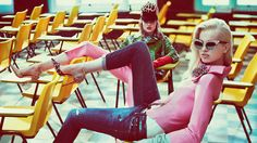 """DSquared2 Fall 2012 Campaign """"The Substitutes"""" Fashion Video"""