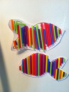 Drinking Straw Crafts on Pinterest