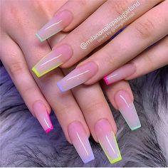 Acrylic Nails Coffin Short, Simple Acrylic Nails, Square Acrylic Nails, Summer Acrylic Nails, Best Acrylic Nails, Nail Summer, Light Pink Acrylic Nails, Coffin Acrylics, French Acrylic Nails