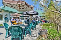 It's finally patio time! #summer #lunch