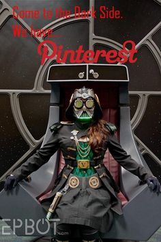 """""""Come to the dark side, we have Pinterest."""" (Epbot readers Angie & Tony B. made this, and it totally made me giggle.)"""