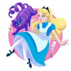 Alice in Wonderland . #aliceinwonderland #disneyprincess #disneyfanart #fanart #digitalart #digitaldrawing #fairytale #illustration #alicefanart #artistsoninstagram #ilustragram #characterdesign #ilustratorsofinstagram #disneyalice #disney
