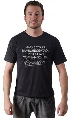 Dica #palcofashion #Camiseta - Clássico #moda #fashion