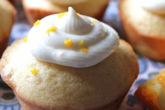ValSoCal: Orange Muffins With Citrus Frosting