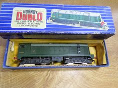Hornby Dublo 3 Rail L30 1000 B.H.P Bo-Bo Diesel Electric locomotive by Collectableminatures on Etsy