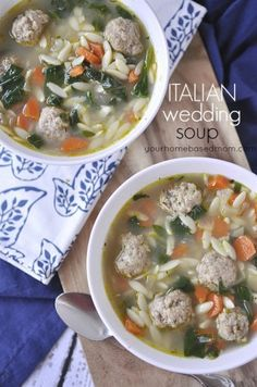 Italian Wedding Soup - your homebased mom