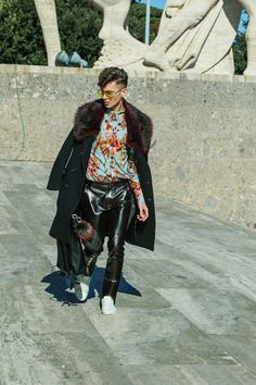 Men fashion madness                               : SPRING FLOWER