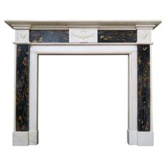 Beautiful Antique C 1820 Federal Style Fireplace Mantel