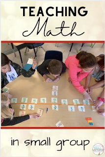 I teach math in small groups each day. Learn ways to make groups, stations, or rotations for 4th and 5th graders. Use a simple schedule that includes guided math, independent worksheets, multiplication fluency practice, and digital online activities. #fourthgrademath #5thgrademath #smallgroups Math Fact Fluency, Teaching Multiplication, Fluency Practice, Teaching Math, Fourth Grade Math, Math Class, Math Lesson Plans, Math Lessons, Teacher Blogs