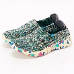スニーカー(マルチカラーメッシュスニーカー)/ Gomu56 multi color sneaker on ShopStyle