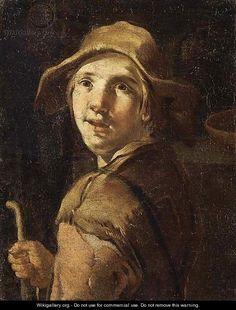 A beggar - (after) Giacomo Ceruti (Il Pitocchetto)