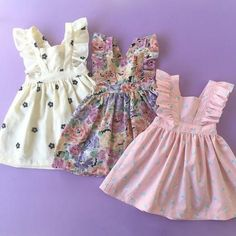 Paush Floral Pinafore