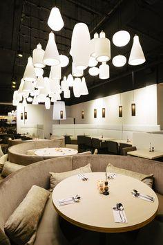 Restaurant Vandaag  Interior Design: D/DOCK  Photography: Alan Jensen