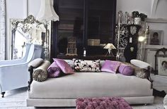 Grown-Up & Pink on Pinterest | Pink, Pink Walls and Pink Room