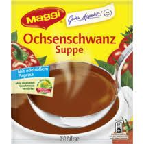 -in USA- Maggi Oxtail soup - Made in Germany